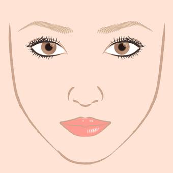 Make-up Face