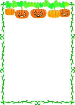 Halloween frame length 3