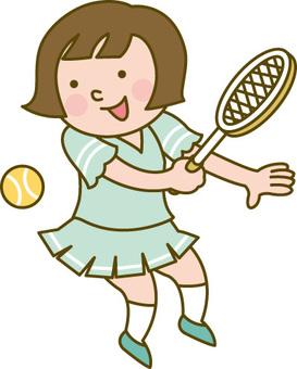 Çocuklar / Tenis