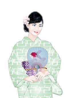 Yukata female 14