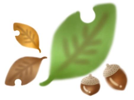 Leaves × Acorn (green)