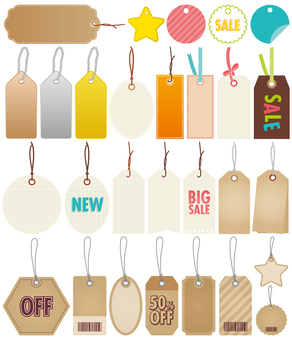 Various tags