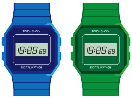 Digital watch 2