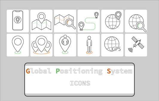 Icon [GPS_color_frame]