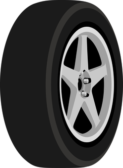 Car tire wheel