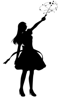 Magical girl Silhouette