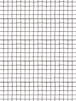 Hand-drawn check pattern microfine