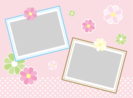 Cosmos photo frame