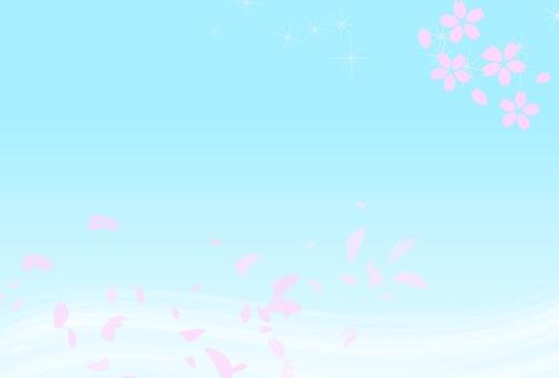 Refreshing cherry blossoms
