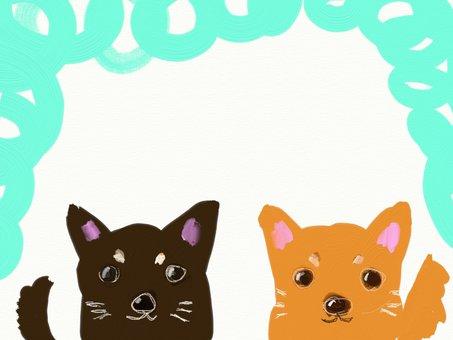 Two dogco frames