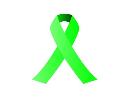 Simple intersecting ribbon (green)