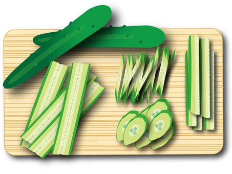黃瓜(切割方法)