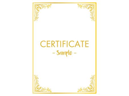 Certificate design