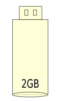 USB memory 2gb