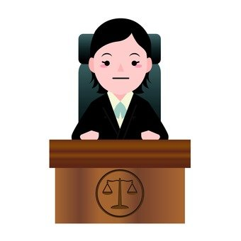 Female presiding judge