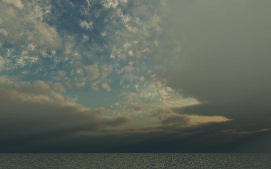 Horizon and sky