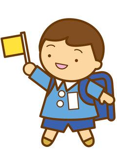 Elementary school student 4c