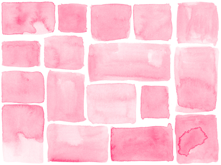 Corners of watercolor background 2