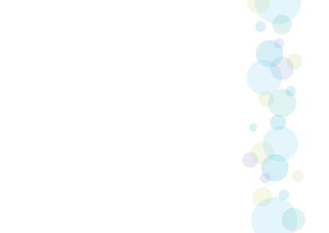 Polka dot frame side 2