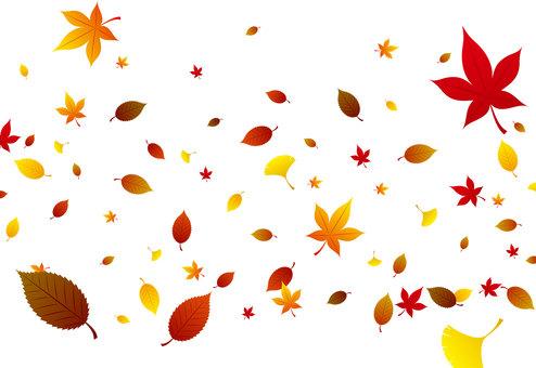 Dead leaves autumn leaves wallpaper