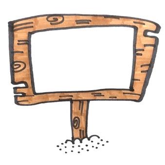 Message board holder