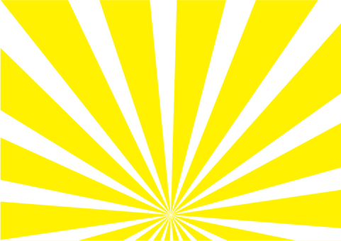 Concentration line radial yellow