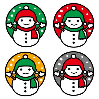 Snowman Variation