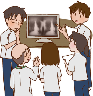 【Medical】 Conference 【chest X-rays】