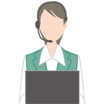 Japanese Operator Female Call Center