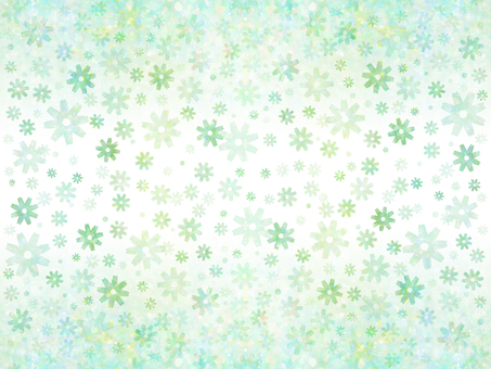 Floral pattern (green 4)