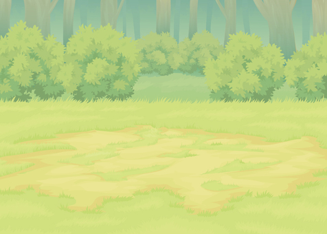 Forest battle background