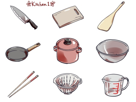 Kitchen 1 set