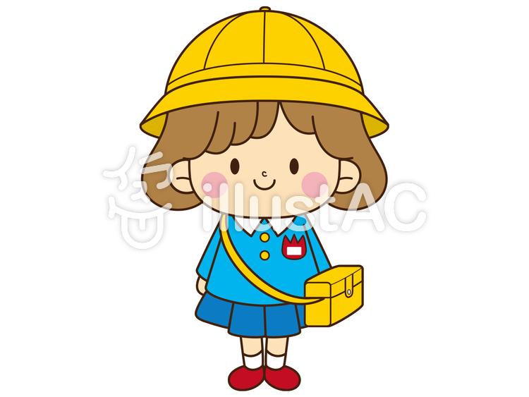 幼稚園児女の子イラスト No 82637無料イラストならイラストac