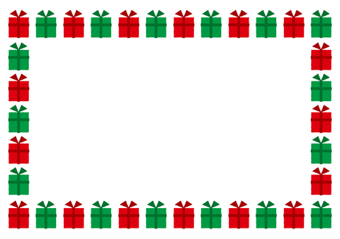 聖誕禮物框架