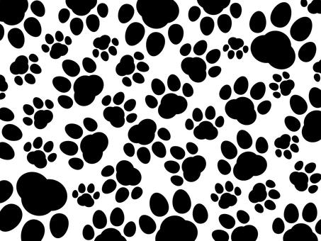 Animal meatball background 04