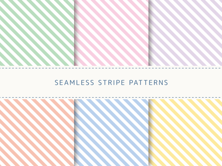 Set of diagonal stripes