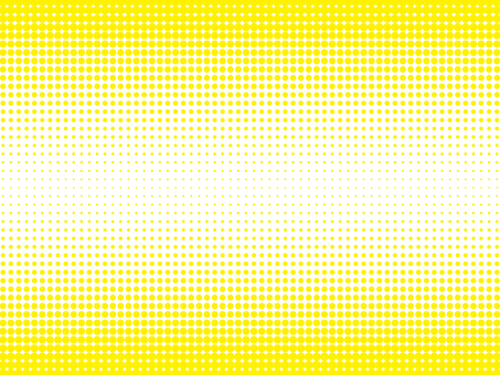 Background material of color halftone (upper and lower yellow)