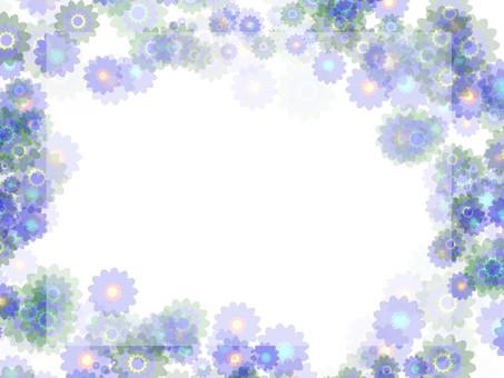 Flower frame 16