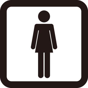 Female pictogram