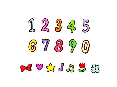 Handwritten numbers