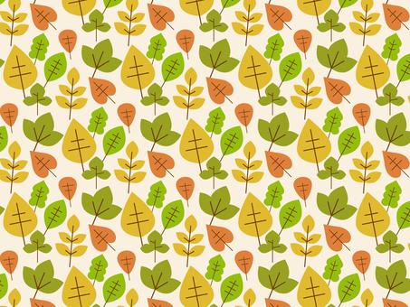 낙엽의 배경 (견본 패턴)