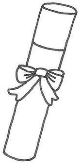 Certificate ribbon