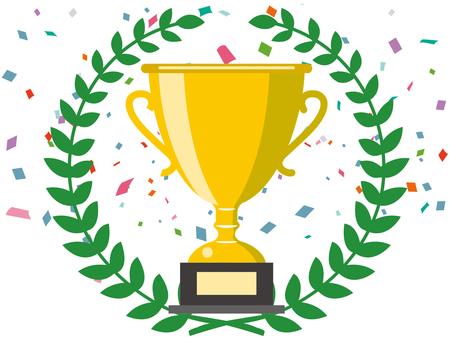 優勝杯シルエット イラストの無料ダウンロードサイトシルエットac