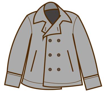 P coat (gray)