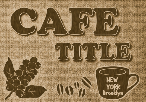Cafe sign design 3