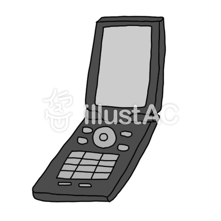携帯電話イラスト No 840113無料イラストならイラストac