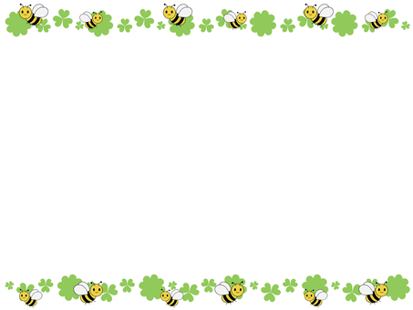Honey bee frame 2