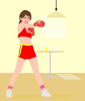 女子/拳擊