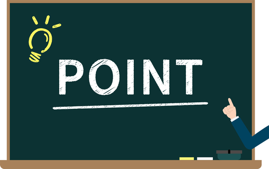 Blackboard image of points