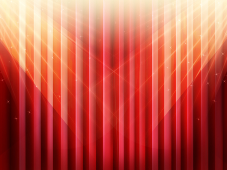 Stage with lighting red curtain wallpaper frame